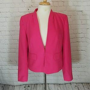 Halogen bright pink blazer